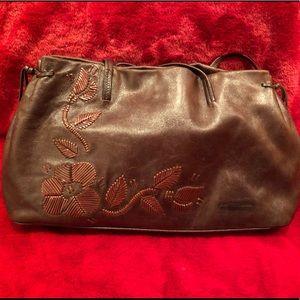 Franceso Biasia Brown Leather Shoulder Bag/Tote